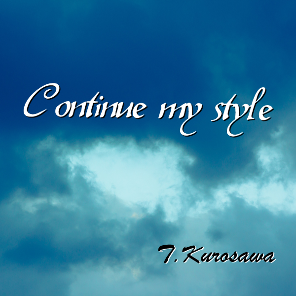 Continue my style